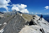 caramantran summit alps trekking
